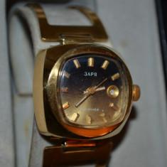 CEAS RUSESC - DAMA - 3APR - Mecanic - 30 Jewels - Placat cu aur - Vintage !