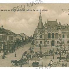 3075 - ORADEA, Market - old postcard - used - 1907 - Carte Postala Crisana 1904-1918, Circulata, Printata