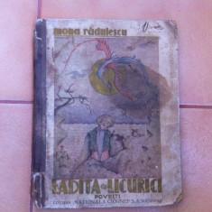 Ladita cu licurici Mona Radulescu ilustrata desene carte povesti pentru copii - Carte de povesti