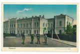 3130 - PASCANI, Iasi, Railway Station - old postcard - unused - 1933