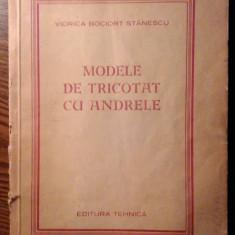 Viorica Bociort Stanescu - Modele de tricotat cu andrele