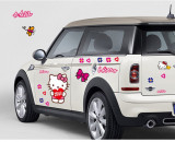 Cumpara ieftin Sticker Hello Kitty Decoratiune Perete Masina Autocolant Camera Copilului