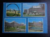 SEPT15-Vedere/Carte postala-Aurora-Hotel Opal, Cristal, Rubin-circulata