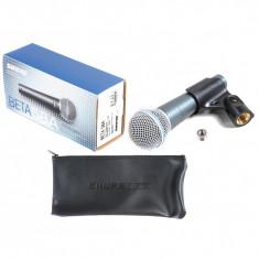 Microfon Shure Incorporated PROFESIONAL SHURE BETA 58A CU NUCA SI BORSETA SHURE+CABLU INCLUS.NOU.