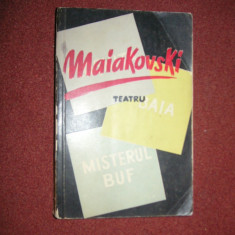 MAIAKOVSKI ~ TEATRU - Carte Teatru