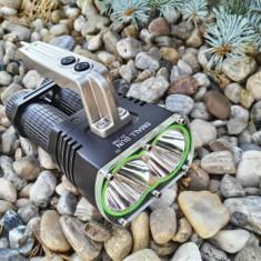 Mega Lanterna SMALL SUN ZY-T56 cu Dual CREE T6-U2 si Inteli-Mode PROFY Nou