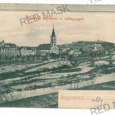 3074 - ORADEA, Market - old postcard - unused - Carte Postala Crisana 1904-1918, Necirculata, Printata