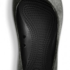 Balerini CROCS Wiona flat antique - black/light grey W7 (37.5 )