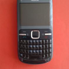 Telefon mobil Nokia C3-00 stare foarte buna, Gri, Neblocat, Smartphone