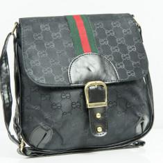 Geanta / Borseta de umar sau sold Gucci + Cadou Surpriza - Geanta Dama Gucci, Culoare: Din imagine, Marime: One size, Geanta stil postas, Bumbac
