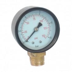 Manometru radial pentru apa 0-12 bar