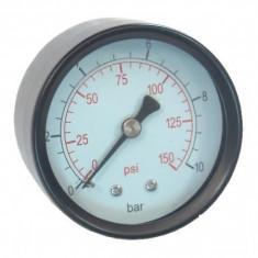 Manometru axial pentru apa 0-10 bar