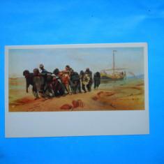 HOPCT 20481  RUSIA PICTURA -ILYA REPIN /PE VOLGA  [ NECIRCULATA ]