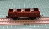 Vagon transport materiale marca Roco scara HO, H0 - 1:87, Vagoane