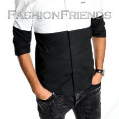 Camasa tip ZARA fashion camasa barbati - camasa slimfit -cod produs : 5151, Marime: L, XL, XXL, Culoare: Din imagine, Maneca lunga