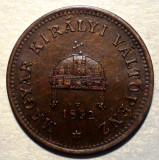A.035 UNGARIA 1 FILLER 1892 RARA, Europa, Bronz