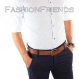 Camasa tip Zara bumbac - camasa - camasa barbati - cod produs: 5142, Marime: L, XL, Culoare: Din imagine, Maneca lunga