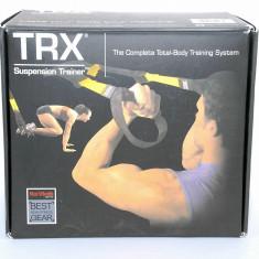 Aparat TRX profesional - cu manual si DVD pt exercitii - garantie 2 ani - Nou - Extensor Fitness