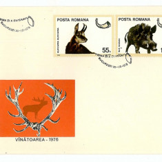 Romania ( 921 ) - 3 FDC, VANATOAREA - 1976, An: 1965