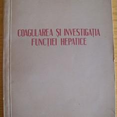 Dr Laurian Roman, Coagularea si investigarea functiei hepatice - Carte Boli infectioase