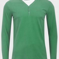 BLUZA / PULOVER ORIGINAL 100% JEAN PASCALE-CALITATE PREMIUM - Pulover barbati, Marime: XL, XXL, Culoare: Verde