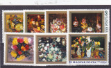 Pictura ,flori ,Ungaria,, Nestampilat