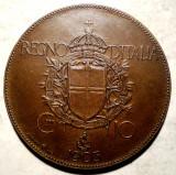 F.615 ITALIA VITTORIO EMANUELE III 10 CENTESIMI 1903 RARA PROBA? 10,07g, Europa, Bronz