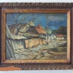 Tablou NAGY OSZKAR - Pictor roman, Peisaje, Ulei, Miniatural
