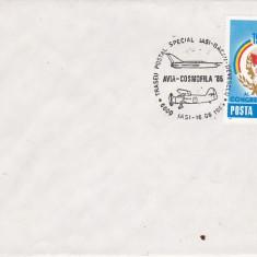Bnk fil Aerofilatelie Avia-cosmofila 1985 Iasi