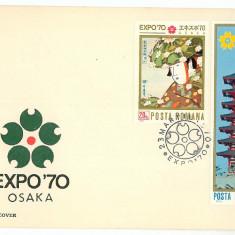 Romania ( 720 ) - FDC, Expo ' 70 OSAKA - 1970, An: 1965