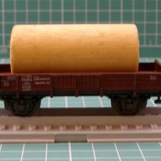 Vagon transport material marca Roco scara HO - Macheta Feroviara Roco, H0 - 1:87, Vagoane