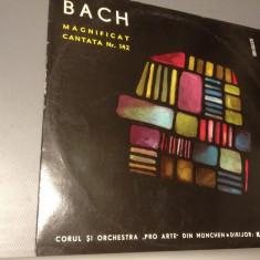 Bach - Magnificat Cantata nr 142 - Kurt Redel (Electrecord ) - VINIL/IMPECABIL - Muzica Clasica