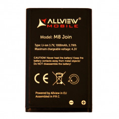 Acumulator Allview M8 JOIN originala SWAP 1000 MAH, Li-ion, 1000mAh/3, 7Wh
