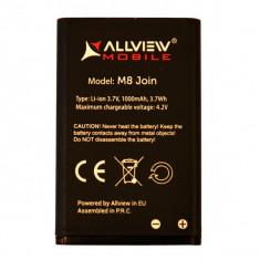 Acumulator Allview M8 JOIN originala SWAP 1000 MAH, Li-ion, 1000mAh/3, 7Wh