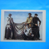 HOPCT 20470 RUSIA PICTURA -OLEG FILATCHEV /PESCARI IN ESTINDEPA [ NECIRCULATA ], Printata