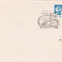 Bnk fil Plic cu stampila ocazionala Expofil Ocrotiti natura Busteni 1985