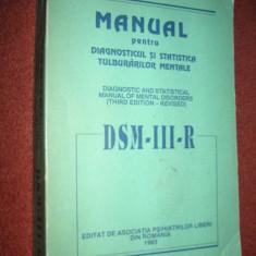 DSM Ill TR - Manual de diagnostic si statistica a tulburarilor mentale - Carte Psihiatrie