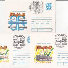 Bnk fil Lot 3 plicuri ocazionale Transfilex 1989 Timisoara