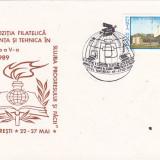Bnk fil Plic ocazional Expofil Stiinta si tehnica Bucuresti 1989