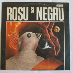 VINIL L.P. ROSU SI NEGRU - Muzica Rock electrecord