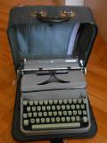 HERMES 2000 MASINA DE SCRIS FUNCTIONALA GEANTA ORIGINALA HERMES VERDE 1950
