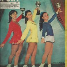 Revista SPORT nr. 16/1974