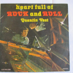 VINIL L.P. ROCK AND ROLL QUENTIN VEST - Muzica Jazz Altele