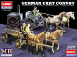 + Macheta 1/35 Academy 35006 - German CART CONVOY (2 in 1) +