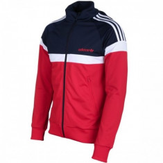 BLUZA ADIDAS ITASCA TT COD AB7502 - Bluza barbati Adidas, Marime: M, Culoare: Rosu