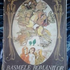 BASMELE ROMANILOR VOL 1 - PETRE ISPIRESCU - Carte Basme