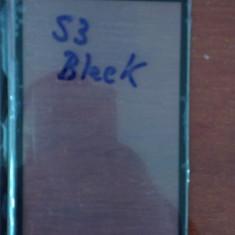 Pachet Geam + capac spate Samsung Galaxy S3 i9300 alb / negru touchscreen ecran