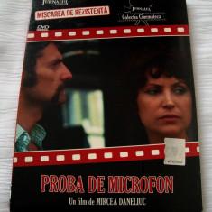 PROBA DE MICROFON [1980] (ORIGINAL, SIGILAT, ROMÂNESC) - Film Colectie, DVD, Romana