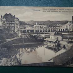 Vizakna - Baia Ocna - Ocna Sibiului - Vedere veche - Carte Postala Banat dupa 1918, Circulata, Printata