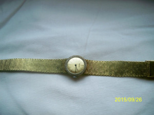 Ceas de mana mecanic Richard Elvetia aurit perfect functional
